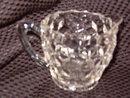 Jeannette Glass  Cube Creamer