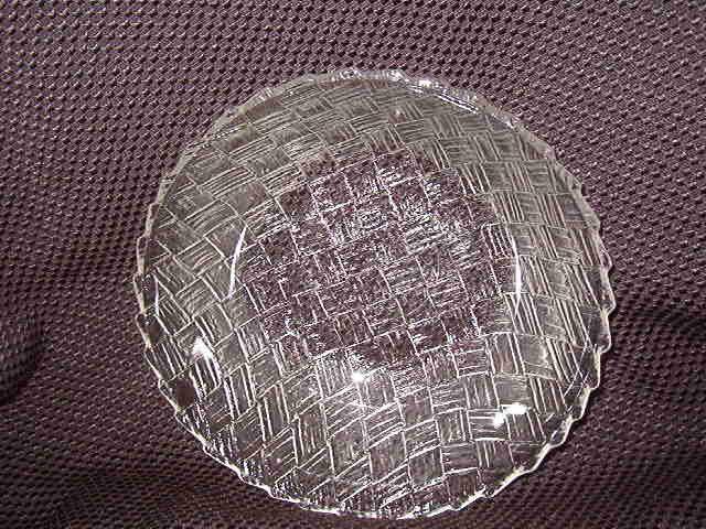 Indiana Glass Weavetex Clear  Bowl