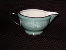 Royal Jackson Rose Point Turquoise Creamer