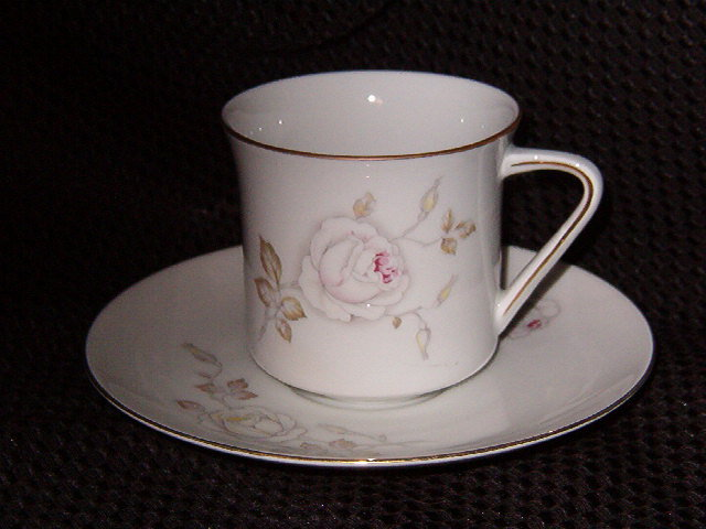 Johann Haviland  Dawn Rose  Cup & Saucer
