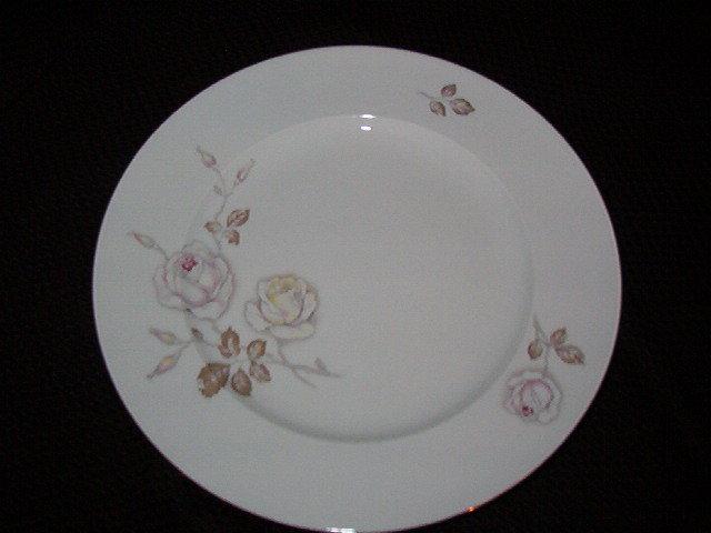Johann Haviland Dawn Rose Bread & Butter Plates