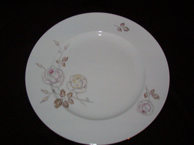 Johann Haviland Dawn Rose Dinner Plate
