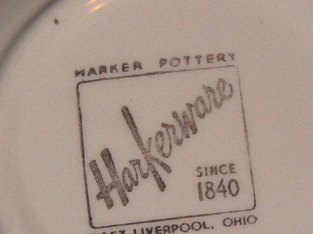 Harker Corinthian Teal Fruit Dessert Bowl