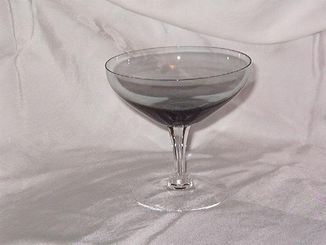 Fostoria Debutante Gray Champagne Tall Sherbet