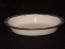 Lenox Bellevue Sea Green Oval Vegetable Bowl