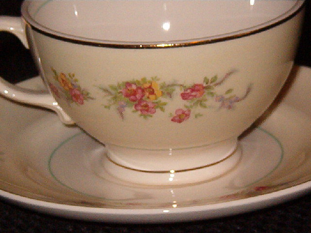 Salem Monticello Cup and Saucer