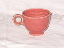 Homer Laughlin Fiesta Rose  Cup