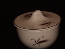 Salem China Royal Joci Sugar Bowl w/lid