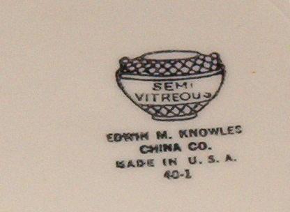 Edwin Knowles Golden Wheat Bread & Butter Plate