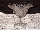 Imperial Glass  Hobstar  Flared Jam/Jelly Open