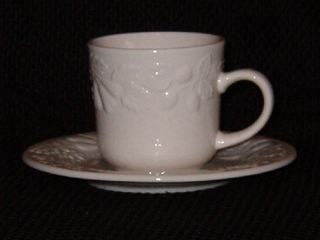 Gibson Designs  Fruit  Cup & Saucer