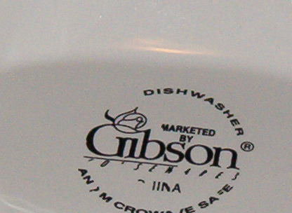 Gibson Designs Fruit Sauce Boat w/Underplate