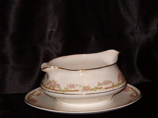 Homer Laughlin Empress Shape Gravy Boat