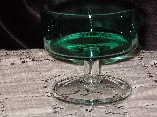 Cris D'Arques Spruce Green Sherbet