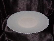 MacBeth Evans  Petalware Cremax Beige Cake Plate