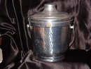Hammered Aluminum Italy  Ice Bucket