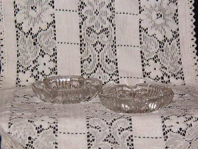 Pair of Vintage Ashtrays