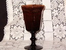 Lenox Crystal  Antique Brown Water Goblet