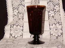 Lenox Crystal  Antique Brown  Ice Tea