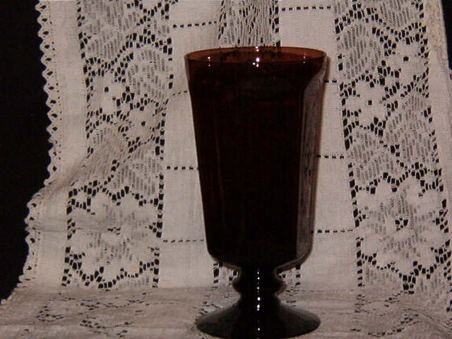 Lenox Crystal  Antique Brown  Ice Tea