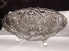 Vintage Footed Bowl