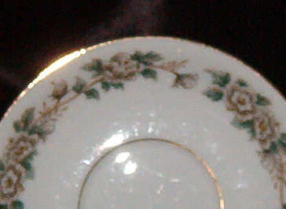 Noritake China Laurette Cup & Saucer