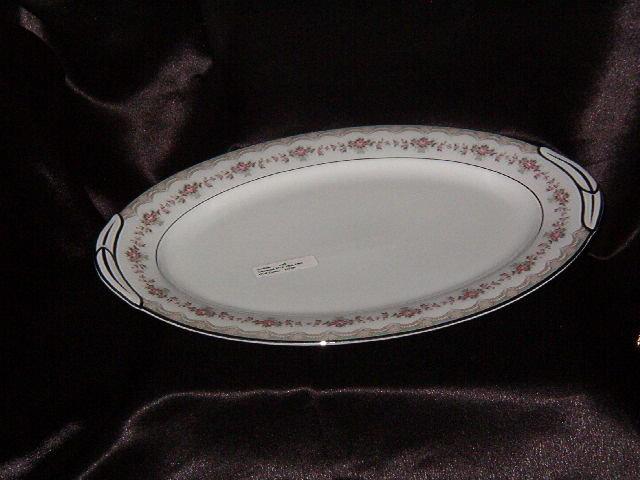 Noritake China Glenwood  Oval Platter