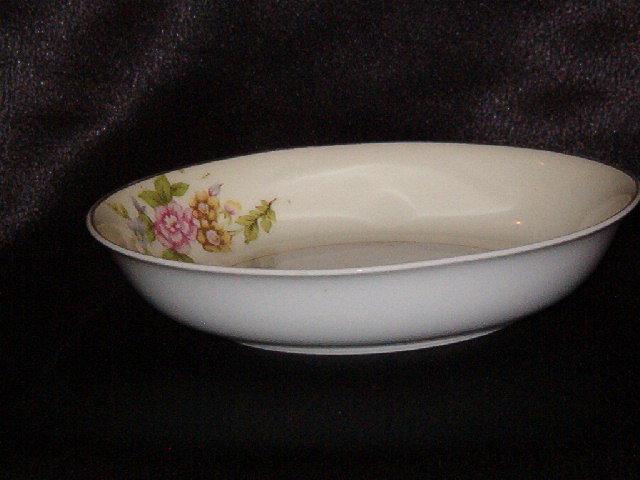 W H Japan Wishbone & Horseshoe Berry Bowl