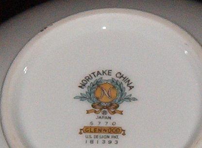 Noritake China  Glenwood Sugar Bowl w/lid