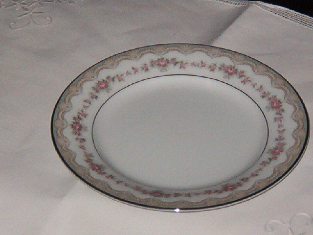 Noritake China Glenwood  Bread and Butter Plate