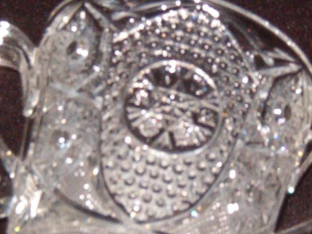Pressed Glass Spooner