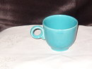 Homer Laughlin Fiesta Turquoise Cup