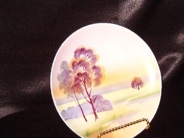 Meito China Hand Painted Jonroth Studios Plate