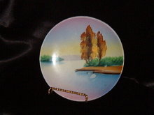 Hand Painted Japan Plate