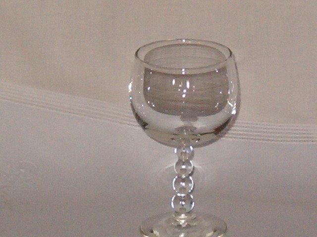 Libbey Rock Sharpe Knob Hill 3009  Wine Rhine Goblet