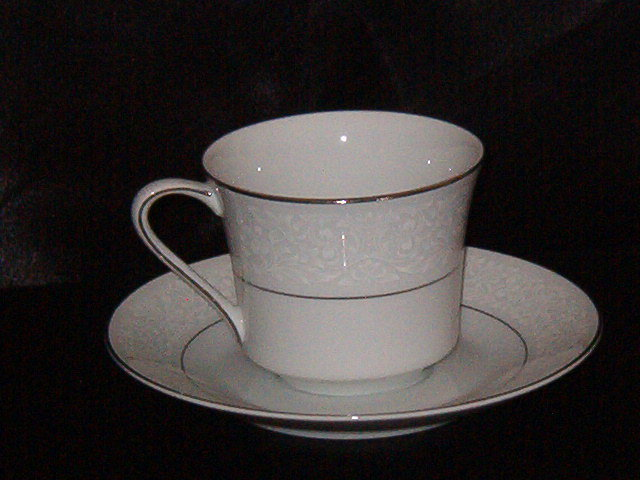 Style House Brocade Cup & Saucer