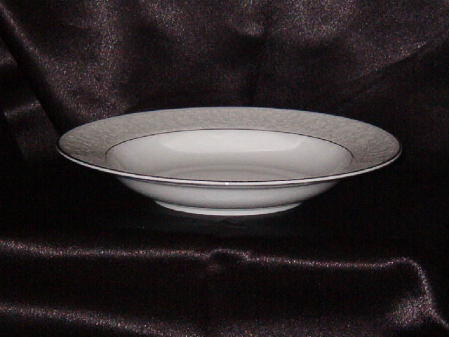 Style House Brocade Rimmed Soup Bowl