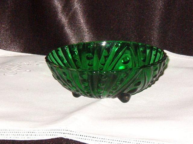Anchor Hocking Burple Green Small Desert Bowl