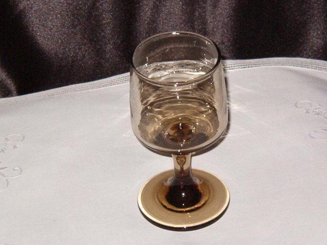 Libbey/Rock Sharpe  Tawny Accent  Wine Glass