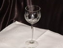 Crystal  Romanian Empress  Etched   Wine