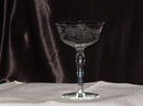 Vintage Etched Stemware  Champagne Tall Sherbet