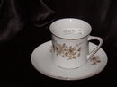 Johann Haviland Twilight Rose Cup & Saucer