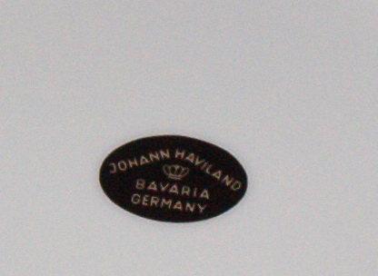 Johann Haviland Twilight Rose Salad Plate