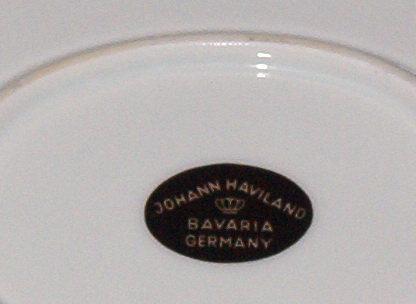 Johann Haviland Twilight Rose Oval Serving Platter
