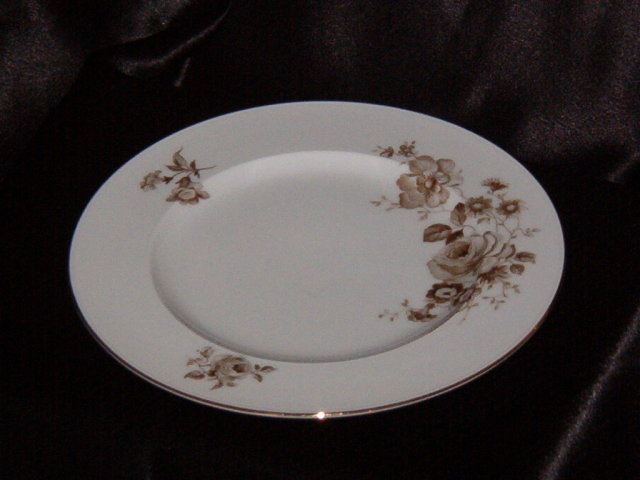 Johann Haviland Twilight Rose Dinner Plate