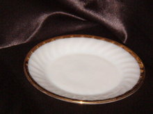 Anchor Hocking Swirl Golden Anniversary Salad Plate