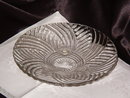 Anchor Hocking Prismatic Line Footed Bowl
