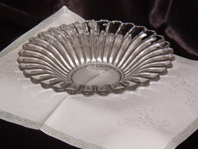 A. H. Heisey Crystolite Flared Bowl