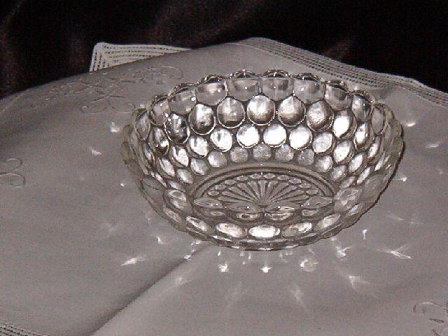 Anchor Hocking Bubble Clear Cereal Bowl