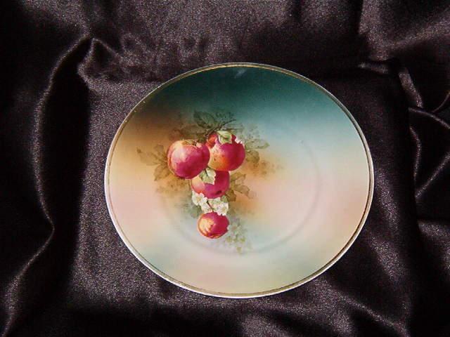 Turin Bavaria Painted Plate